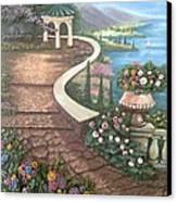 Garden View 3 Canvas Print by Prashant Hajare