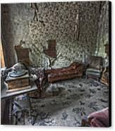 Garnet Ghost Town Hotel Parlor - Montana Canvas Print by Daniel Hagerman