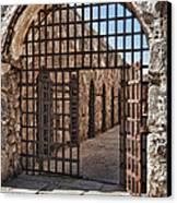 Gateway To The Unknown Canvas Print by Sandra Bronstein