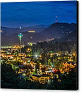 Gatlinburg And The Smokey Mountains Canvas Print by Brian Young