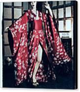 Geisha Canvas Print by Maynard Ellis