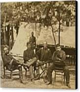 General Charles Francis Adams Jr Canvas Print by Everett
