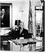 General George C. Marshall As Secretary Canvas Print by Everett