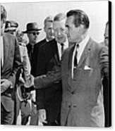 George Wallace Stepping Aside Canvas Print