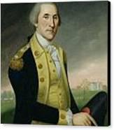 George Washington At Princeton Canvas Print