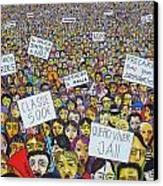 Geracao A Rasca Canvas Print by Mario Fresco