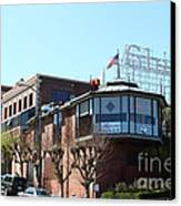 Ghirardelli Chocolate Factory San Francisco California . 7d14093 Canvas Print by Wingsdomain Art and Photography