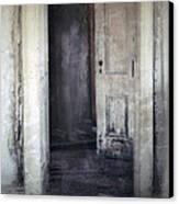 Ghost Girl In Hall Canvas Print by Jill Battaglia