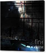 Ghost Ship Of The San Francisco Bay . 7d14032 Canvas Print by Wingsdomain Art and Photography