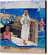 Giancarla Canvas Print by Regina Ammerman