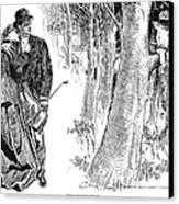Gibson: Highwayman, 1898 Canvas Print
