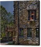 Gillette Castle Exterior Hdr Canvas Print