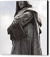 Giordano Bruno, Italian Philosopher Canvas Print by Sheila Terry