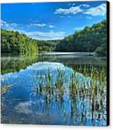 Glassy Waters Canvas Print by Adam Jewell