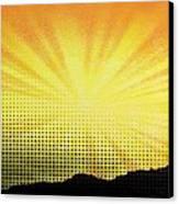 Gleam Canvas Print
