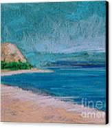 Glen Arbor Beach Canvas Print by Lisa Dionne