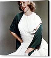 Gloria Grahame, Ca. 1950s Canvas Print