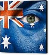 Go Australia Canvas Print