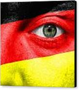 Go Germany Canvas Print by Semmick Photo