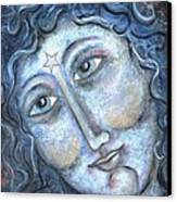Goddess Of The Northern Star Canvas Print