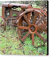 Going Green With Fordson  Canvas Print by Pamela Patch