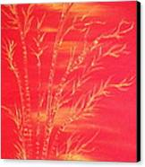 Golden Bamboo 2 Canvas Print by Pretchill Smith