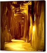 Golden Future Canvas Print