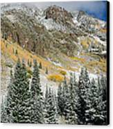 Gore Range Cold Canvas Print