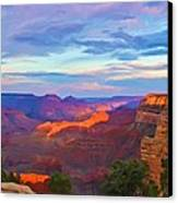 Grand Canyon Grand Sky Canvas Print