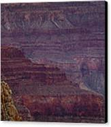 Grand Canyon Ridges Canvas Print by Andrew Soundarajan