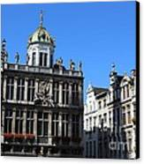 Grand Place Buildings Canvas Print