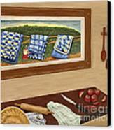 Grandma's Apple Pie Canvas Print