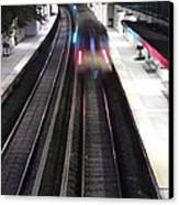Great Neck Train Station Canvas Print by Stephen Walker