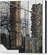 Great Northern Clocktower Reflection - Spokane Washington Canvas Print