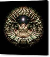 Green Eye Sphere Canvas Print