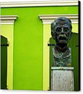 Green Canvas Print by Mauricio Jimenez