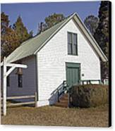 Griffiths Chapel 1850 Canvas Print by Brian Wallace