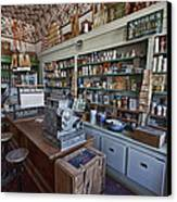 Grocery Store Of Yesteryear - Virginia City Montana Ghost Town Canvas Print