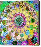 Groovy Canvas Print by Sharon Lisa Clarke