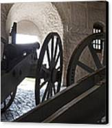Ground Floor Cannons Canvas Print by Peter Chilelli