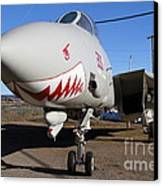 Grumman F-14a Tomcat Fighter Plane . 7d11210 Canvas Print by Wingsdomain Art and Photography