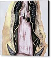 Guadalupe Canvas Print by Myrna Migala