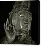 Guan Yin Bodhisattva - Goddess Of Compassion Canvas Print
