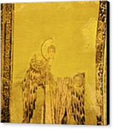 Guardian Angel Byzantine Art Canvas Print