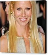 Gwyneth Paltrow Wearing Louis Vuitton Canvas Print