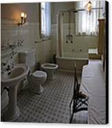 Haas Lilienthal House Victorian Bath - San Francisco Canvas Print by Daniel Hagerman