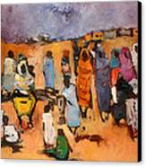 Haboba2 Canvas Print by Negoud Dahab