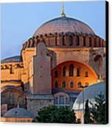 Hagia Sophia At Dusk Canvas Print by Artur Bogacki