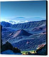 Haleakala Crater 1 Canvas Print by Ken Smith