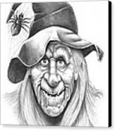 Halloween Weeotch Canvas Print by Murphy Elliott
